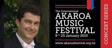 Akaroa Music Festival - Brahms, Bach, Barriere