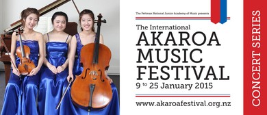 Akaroa Music Festival - Trinity Trio at Lunchtime