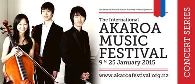 Akaroa Music Festival - Akato Trio at Lunchtime