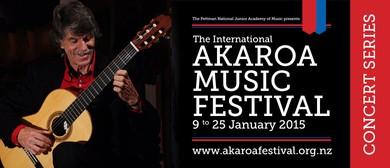Akaroa Music Festival - Miles Jackson, guitar
