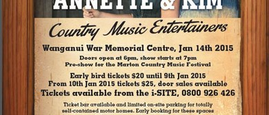Annette & Kim - Country Music Entertainers