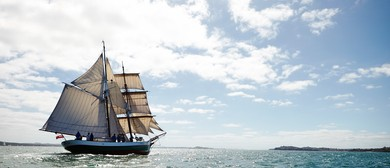 Mahurangi Regatta on Tall Ship Breeze