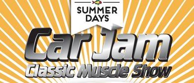 "Takapuna Beach Summer Days Car Jam ""Classic Muscle"""