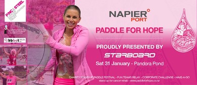 Napier Port Paddle for Hope