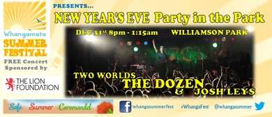 New Year's Eve Party Feat The Dozen & Special Guests