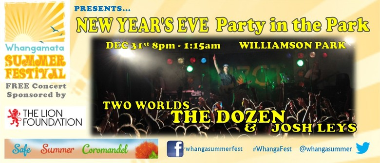 Whangamata New Years New Year's Eve Party Feat The