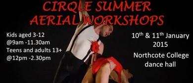Cirqle Summer Aerial Workshops
