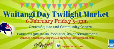 Waitangi Day Twilight Market