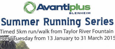 AvantiPlus Blenheim Summer 5km Running Series