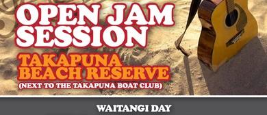 Waitangi Day Open Jam Session