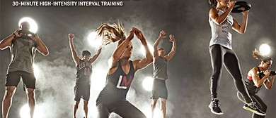 Outdoor Les Mills GRIT® Classes over Summer