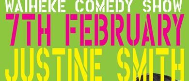 Waiheke Comedy Club with Justine Smith