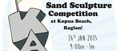 Kopua Beach Sand Scupture Competition