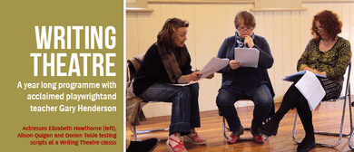 Writing Theatre: A Year Long Programme with Gary Henderson