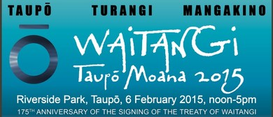 Waitangi Taupo Moana Festival