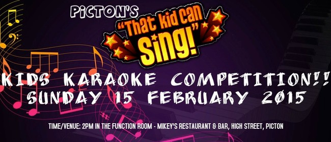 Picton's That Kid Can Sing