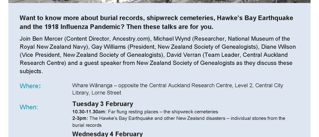 New Zealand Cemeteries Heritage Week with Ancestry