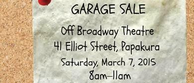 Papakura Theatre Company Garage Sale