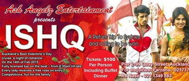 Ishq - Valentines Day Bollywood Boat Cruise: CANCELLED
