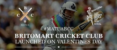 Matua Britomart Cricket Club Launch