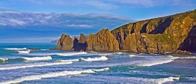 Catlins Coastal Walk Papatowai-Tautuku Point-Lathyrus Bay