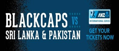 Blackcaps v Pakistan ANZ ODI Series