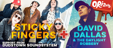 Radio One presents OUSA Orientation featuring Sticky Fingers