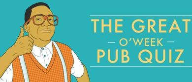 AuSM O'Week 2015: Pub Quiz