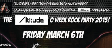 The Altitude O-Week Rock Party 2015