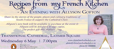 Recipes from my French Kitchen, Evening with Allyson Gofton