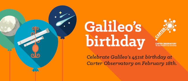 Galileo's Birthday