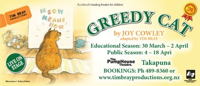 Greedy Cat by Joy Cowley