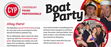 Canterbury Young Professionals Boat Party