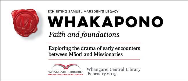 Whakapono Faith and Foundations