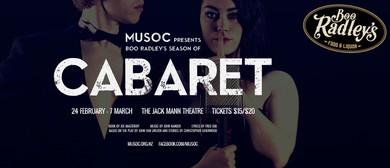 MUSOC Presents Boo Radley's Season of Cabaret