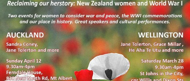 New Zealand Women and World War One (Women's Studies Assn)