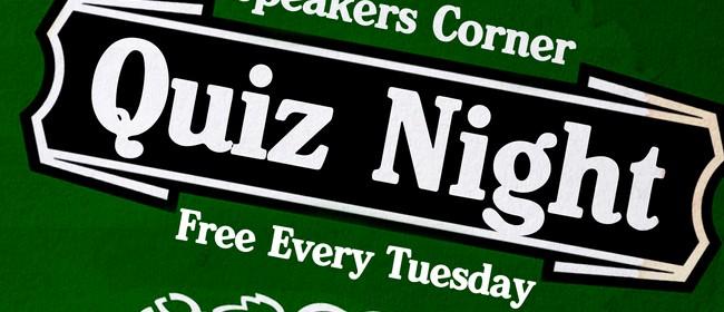 Speakers Corner Quiz Night