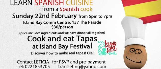 Cook and Eat Tapas at Island Bay Festival