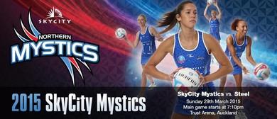 SKYCITY Mystics v Ascot Park Hotel Southern Steel