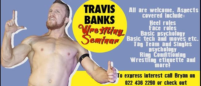 Travis Banks Pro Wrestling Clinic