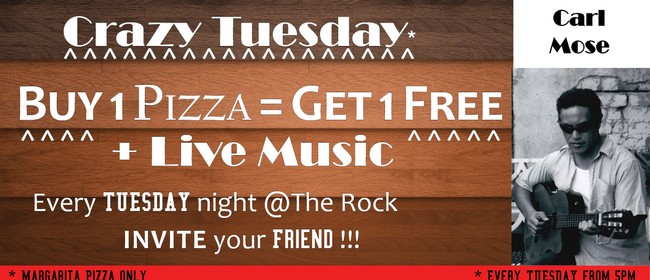 Crazy Tuesday - Pizza & Music with Carl Mose