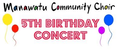 Manawatu Community Choir 5th Birthday