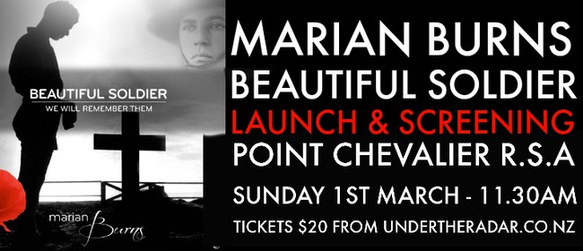Marian Burns - Beautiful Soldier Release