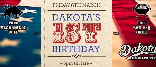 Dakota's 1st Birthday, Mechanical Bull, BBQ Grill & Hoedown