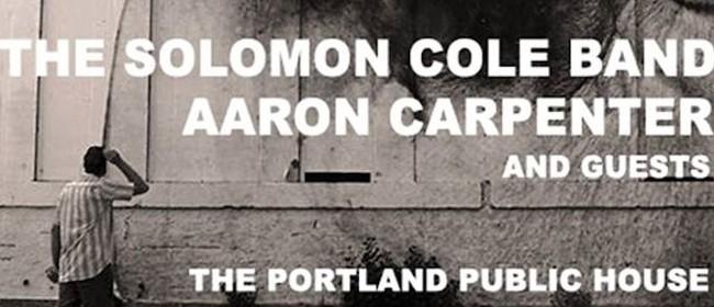 The Solomon Cole Band + Aaron Carpenter & Guests