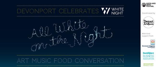 White Night in Devonport: All White on the Night