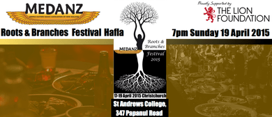 MEDANZ Roots & Branches Festival 2015 Hafla