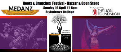 MEDANZ Roots & Branches Festival 2015 Bazaar & Open Stage
