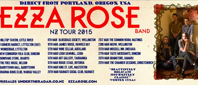 The Ezza Rose Band Tour