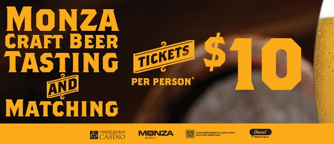 Monza Craft Beer Tasting & Matching Evening